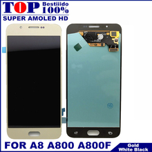 US $34.76 41% OFF For Samsung Galaxy A8 A800 A8000 A800F Super AMOLED Phone LCD Display Touch Digitizer Screen Assembly 100% Tested Replacement-in Mobile Phone LCDs from Cellphones & Telecommunications on Aliexpress.com   Alibaba Group
