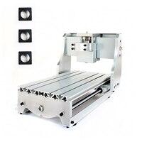 Гравировальный рамы машины DIY ЧПУ подходит древесины маршрутизатор 3020 0.8KW 500 Вт шпиндельное приспособление 52 мм