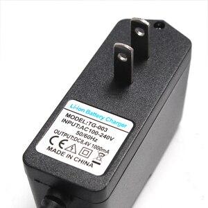 Image 2 - Cargador de batería de litio 8,4 V 1A, 7,4 V 1A, enchufe estadounidense, 110 220V, cargador de batería de litio CC 5,5*2,1 MM