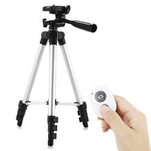Top Deals HM3110A Camera Camcorder Flexible Three way Head Tripod with Bluetooth 4.0 Remote Controller