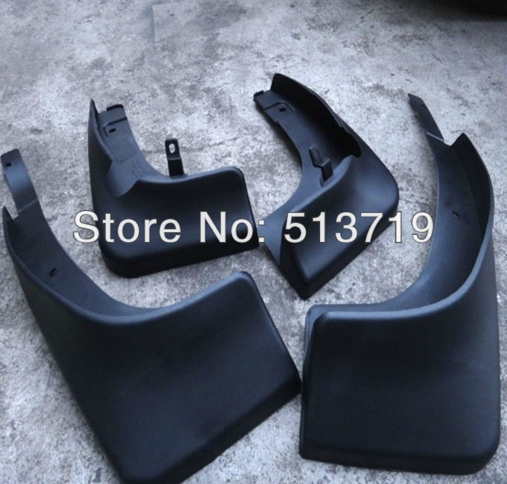 Free shipping splasher Mudguard Mud Flaps Splash Guards Fit for 2010 2013 Luxgen 7