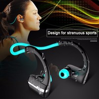 P9 Bluetooth 4 1 Headset IPX4 Sweatproof Stereo Music Earbuds Wireless Headphone HD Mic Earphone For