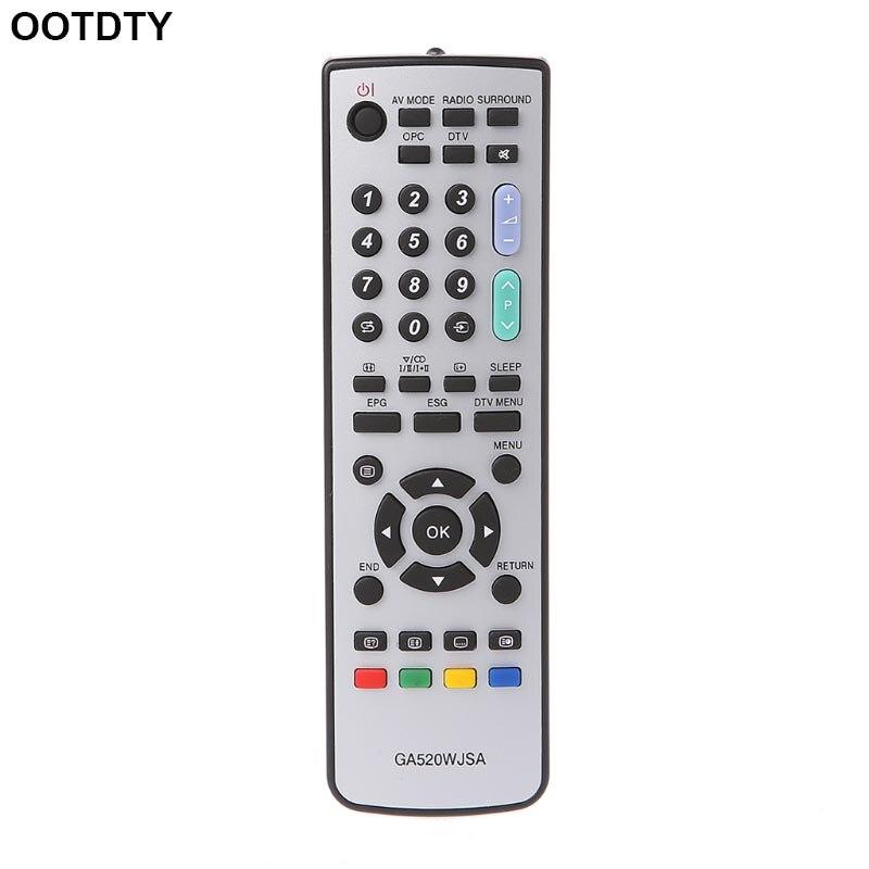 Télécommande TV Contrôleur De Remplacement Pour SHARP GA520WJSA GA531WJSA GA591WJSA-M43
