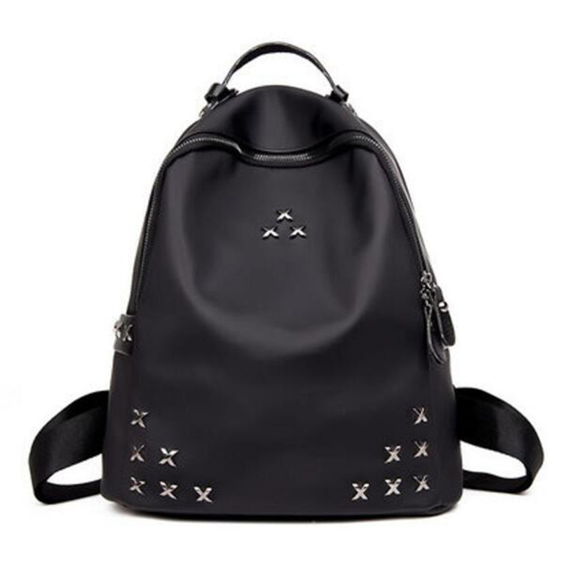 Popular nylon travel female bag bag fashion personality joker waterproof quality leisure bag Teenagers School bag