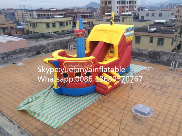 (China Guangzhou) manufacturers selling inflatable slides, inflatable castles,  The new slide CB-102