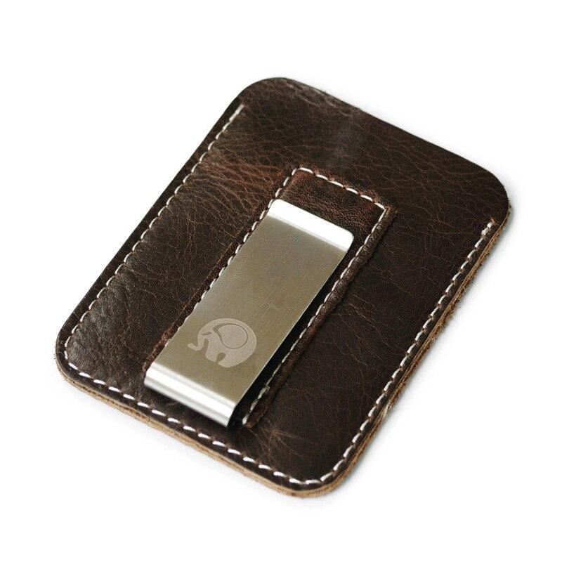 Money Card Holder Metal Clips Men