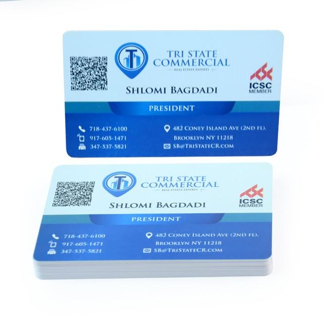 Customized design printing qr code plastic pvc business cards in customized design printing qr code plastic pvc business cards reheart Image collections