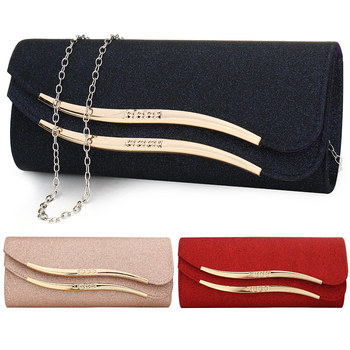Sequined Envelope Clutch  5