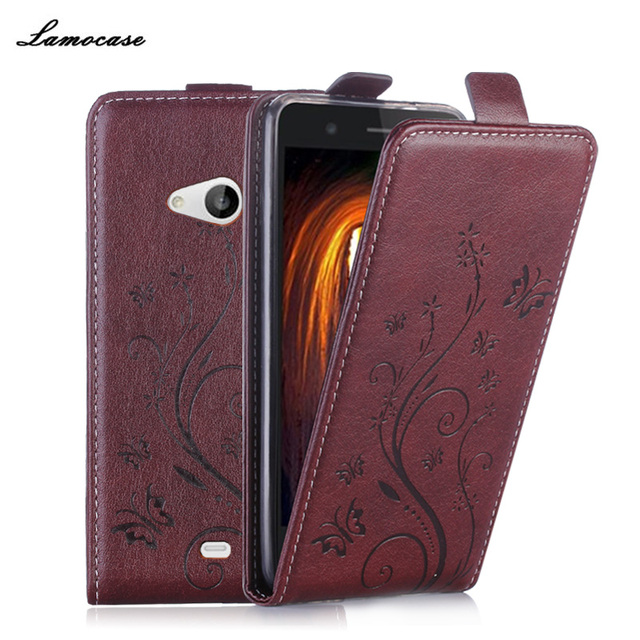 half off cde6f 21dc8 US $7.49 |Luxury Printing Case for Nokia 535 Flip Cover Leather Embossing  Case for Microsoft Nokia Lumia 535 N535 Phone Bag Card Holder-in Flip Cases  ...