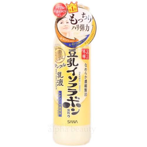 Sana Japonya Nameraka Honpo Soya Isoflavone Nem Losyonu Toner/emulssion (200 Ml/6.7fl.oz.).