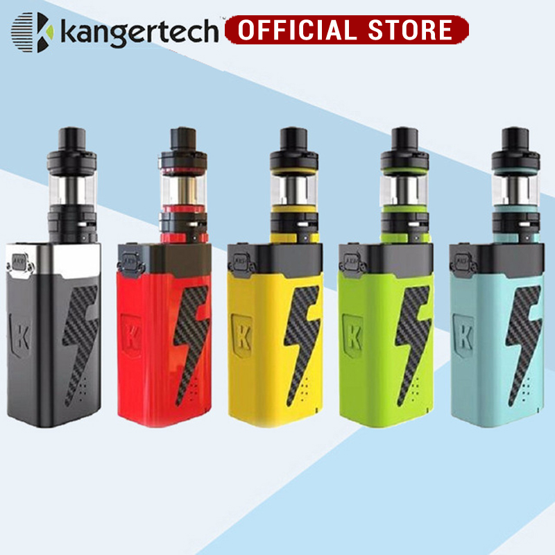New Original Kangertech Kanger AKD FIVE 6 Starter Kit 8ml Top Filling Subohm Tank Electronic Cigarette 220W Mod vape kit