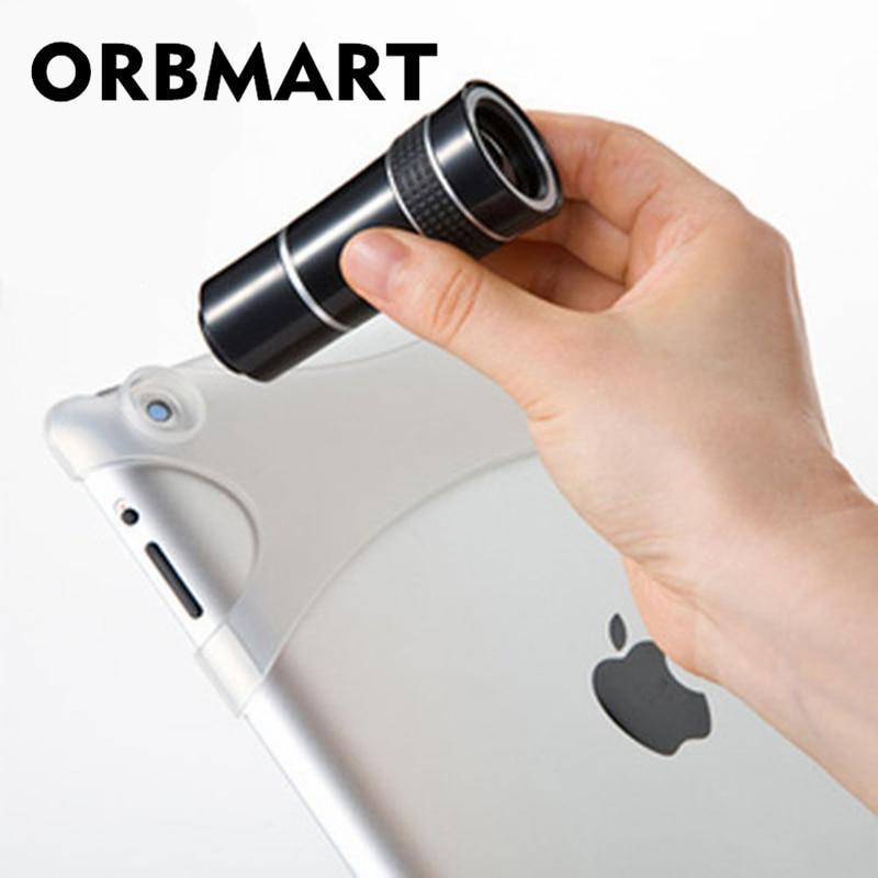 ORBMART Új Arrival 10X optikai zoom teleszkóp kameralencse mini - Mobiltelefon alkatrész és tartozékok
