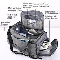 New Nylon Travel Bag Large Capacity Men Hand Luggage Travel Duffle Bags Nylon Weekend Bags Women Multifunctional Travel Bags