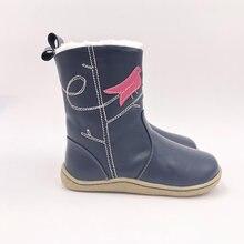 TipsieToes-zapatos de piel auténtica para bebé, niño niña, botas de nieve de invierno, a la moda, envío gratis