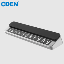 Luminous Car Sticker Temporary Parking Card Florescent Phone Number Card Car Kit Easy to Disassemble Replace Automobile Accessor цена