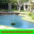 Макс. Высота распыления 70 см плавающий лист  цветок лотоса бассейн пруд открытый солнечная панель домашний сад украшение сад фонтан