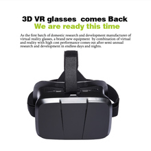 Head-mounted Universal 3D VR Glasses Virtual Reality Video Movie Game Glasses with Headband for Google Cardboard iPhone Samsung