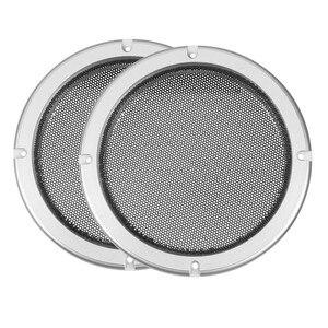 Image 3 - 1 çift çok seçenekli yuvarlak hoparlör ızgarası örgü Net hoparlör koruyucu kapak 4/5/6.5/8/ 10 inç hoparlör kapağı