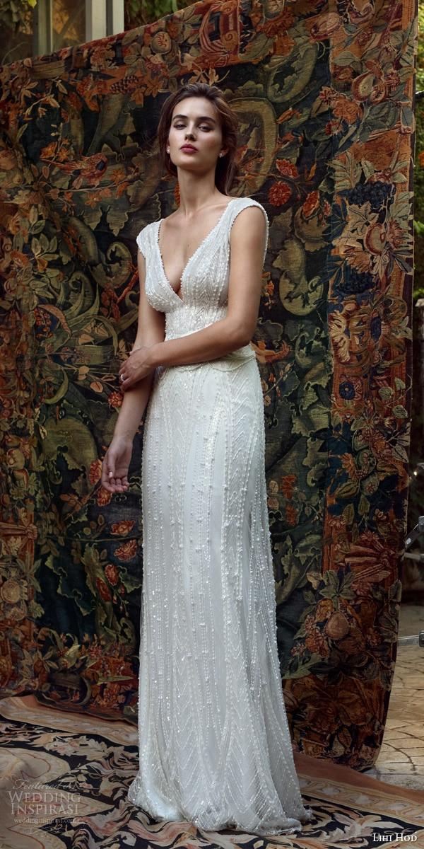 Vestido de novia sexy v neck sheath wedding dresses luxury for Sexy sheath wedding dress