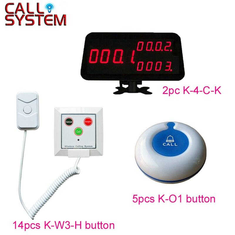 Système d'appel sans fil d'hôpital de sonnerie d'alarme de Patient numérique de Ycall