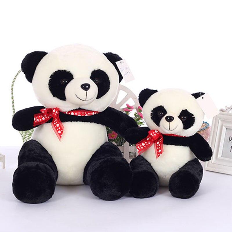 Cute Huggable Panda Stuffed Toys Soft Giant Panda The Bear Plush