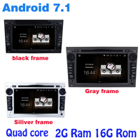 Android 7.1 Quad core car dvd gps for opel Meriva Astra corsa Vectra C Signum Vivaro Zafira Combo with 2G RAM wifi 4G USB BT