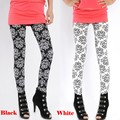Leggins Rushed Direct Selling Floral Mid Cotton Women Leggings 2016 Women Elastic Printing Leggings Pencil Pants Stretch Skinny