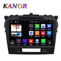 Kanor 10 1inch Android Quad Core Car DVD Player For Suzuki 2015 Grand Vitara 1024 600