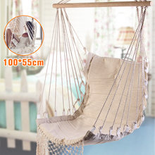 Bedroom Hanging Chair Cheap Cover Hire Warrington Popular Indoor Swing Buy Lots From Nordic Style White Hammock Outdoor Garden Dormitory For Child Adult Swinging Single Safety