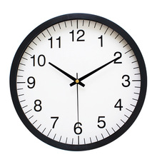 Ultra quiet 10 Inch Simple Digital Wall Clock Living Room Modern Creative Quartz Watches Hanging Personality