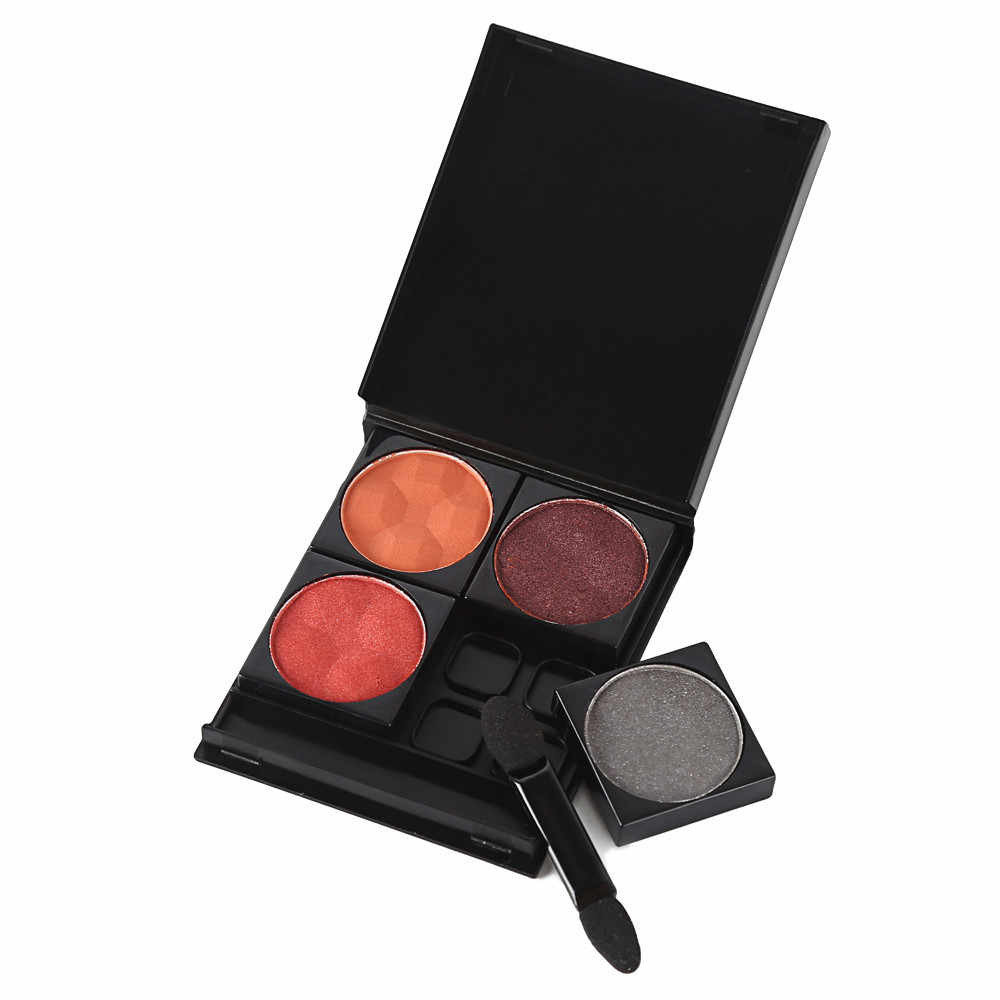 Hot Sale Fashion DIY Refill Empty Magnetic Eyeshadow Palette Plat Concealer Pans With Blush Press Powder Palette Tools 19L0709