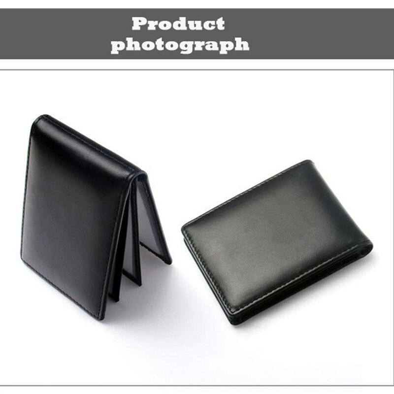 Genuine Leather Car Licence Bag Credit Card Holder Driver Licence Wallet For Hyundai Santa Fe I20