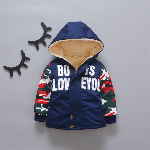 257 High quality 0-4 years winter boy jacket thicken woolen warm Hooded baby clothing kid children baby jacket outerwear coat Karachi