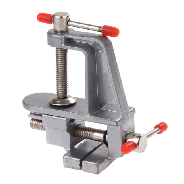 3 5 Aluminum Miniature Small Jewelers Hobby Clamp On Table Bench