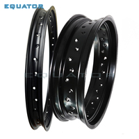 2.50x19 4.25x17 2.50* 19 inch 4.25*17 Inch 36 Spokes Holes Aluminum Alloy Motorcycle Wheel Rims