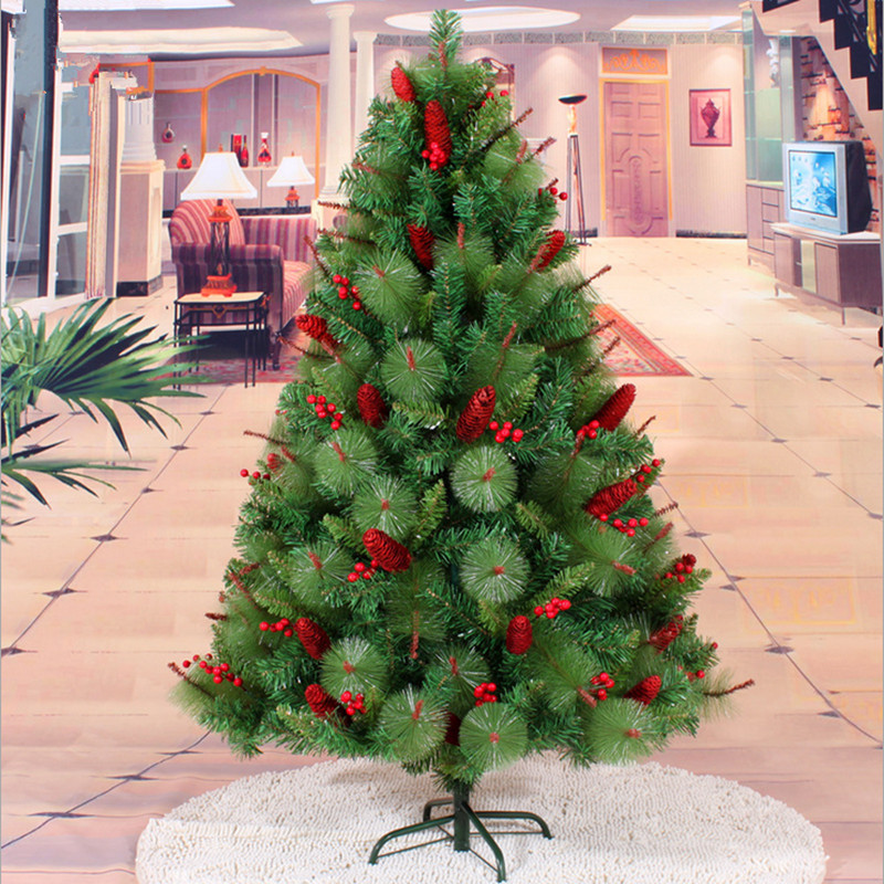 Popular pinecone christmas decorations buy cheap pinecone for Where can i buy a red christmas tree