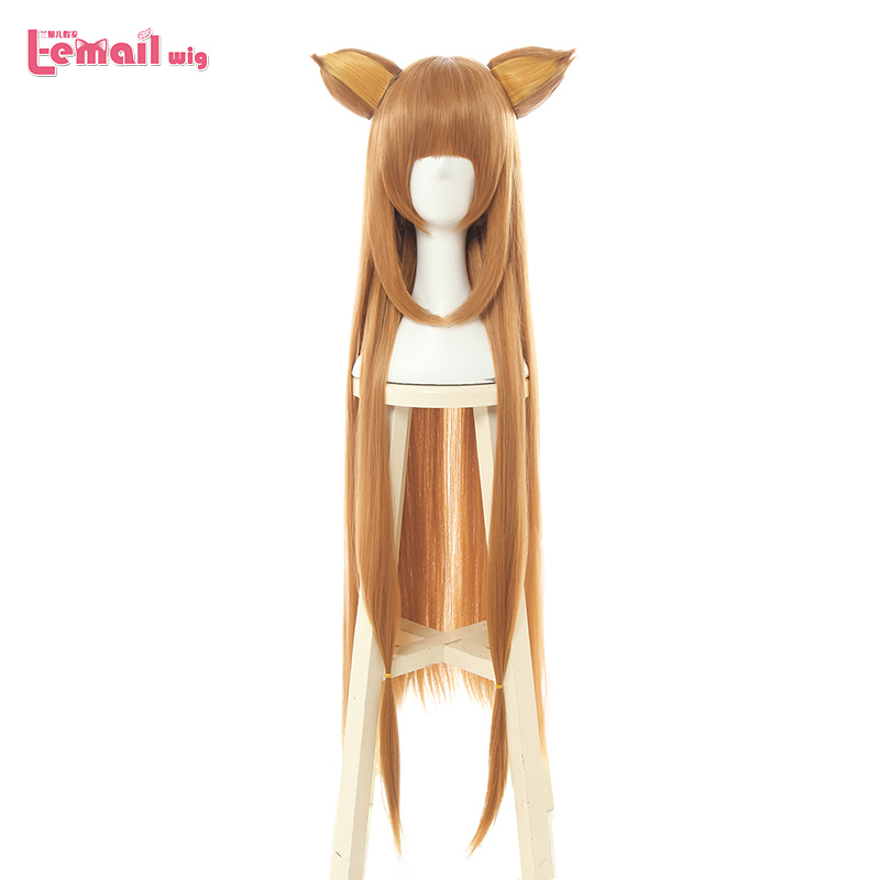 L-email wig Tate no Yuusha no Nariagari Raphtalia Cosplay Wigs 100cm Long Heat Resistant Synthetic Hair Perucas Cosplay Wig(China)