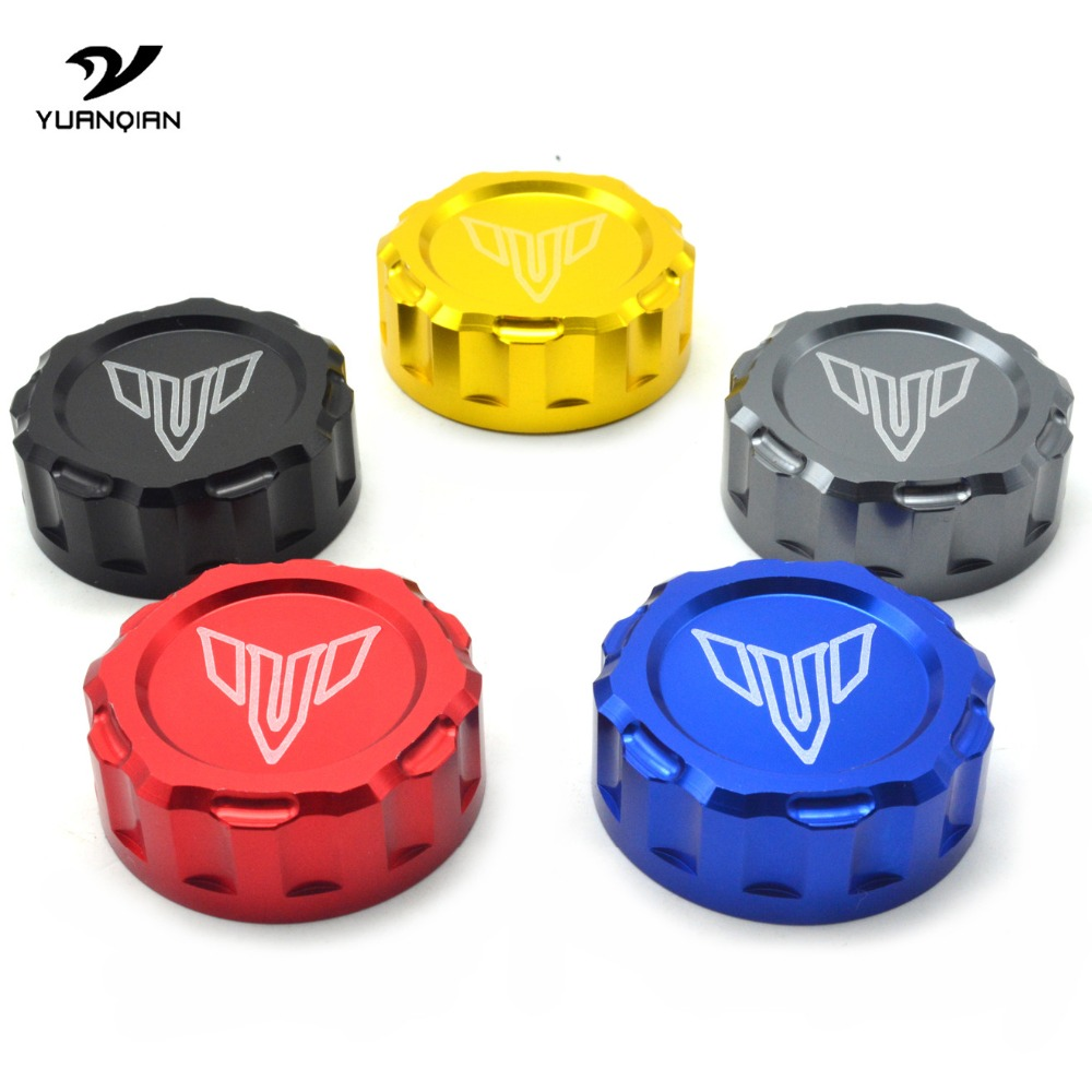 Universal Motorcycle Brake Master Cylinder Oil Filter Fluid Reservoir Cover Cap For YAMAHA MT07 MT-09 mt 09 07 FZ-09 MT09 Tracer