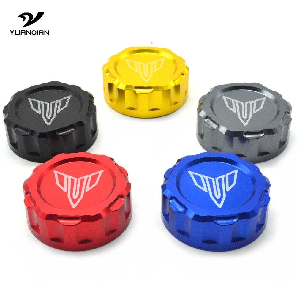 Universal Motorcycle Brake Master Cylinder Oil Filter Fluid Reservoir Cover Cap For YAMAHA MT07 MT-09 mt 09 07 FZ-09 MT09 Tracer
