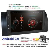 Ossuret Android 9.0 Car NO DVD Multimedia Player For BMW E39 X5 E53 E38 M5 Car GPS radio audio Canbus RDS MIC DAB SWC BT USB SD