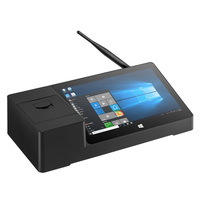 Pipo X3 Мини ПК Win10 планшетный компьютер Intel Z8350 четырехъядерный 8,9 дюймов 1920*1200 2G 32G HDMI Smart Box POS PC 58 мм Термопринтер