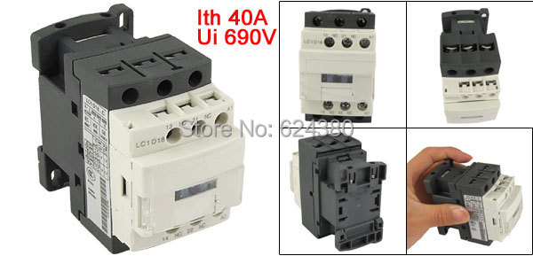 Electrical Equipments & Supplies 1 Nc Back To Search Resultshome Improvement Lc1d18q7c 380v Coil Motor Starter Control Ac Contactor Three Phase Din Rail Mount 3p 3 Pole 1 No