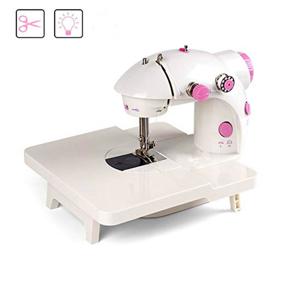 Portable Mini Sewing Machine Table Household Lightweight Electric 201/202A Sewing Machine Extension Table DIY Craft Accessories