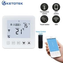 Inteligentny termostat bezprzewodowy kontroler temperatury WiFi APP kontroluje 16A elektryczne ogrzewanie podłogowe do ciepłego pokoju termoregulator