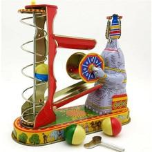 Tin-Toys Collection Elephant Vintage Clockwork Wind-Up Classic Retro Adult Children