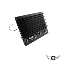 Fever High Quality High Fidelity 1000W 12V 1 Channel Car Amplifier Board Subwoofer Audio Converter Auto