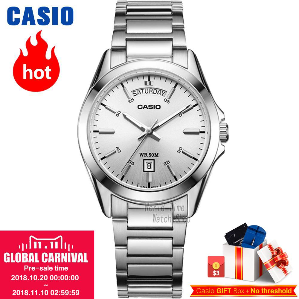Casio watch Fashion business quartz male watch MTP-1370D-7A1 MTP-1370D-1A1 MTP-1370D-1A2 MTP-1370L-1A MTP-1370L-7A casio mtp 1308sg 7a