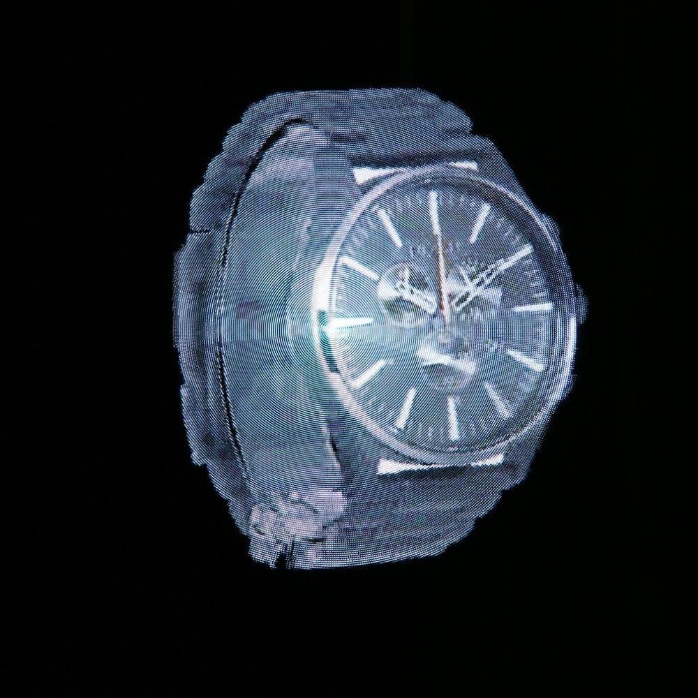 Segunda Generación! WIFI 3D Holograma Display Publicidad Reproductor de Imágenes Holográficas Del Ventilador de Luz Led Blanco/Negro Versión Actualizada