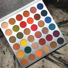 Beauty Glazed 36 Colors Eye Shadow Powder Makeup Palette Soft Smoky Nude Eyeshadow Pigments Easy to Wear Shimmer Matte
