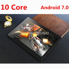 10 inch Deca Core 3G 4G LTE Tablet Android 7.0 RAM 4GB ROM 128GB 8.0MP Dual SIM Card Bluetooth GPS Tablets 10 inch tablet pc